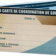 Carte de coordination de soins